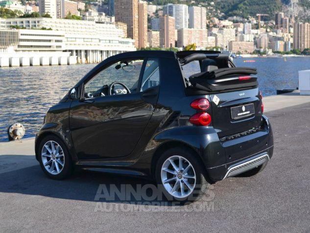 Smart Fortwo 71ch mhd Passion Softouch Noir Metalisée Occasion - 8