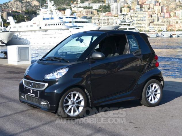 Smart Fortwo 71ch mhd Passion Softouch Noir Metalisée Occasion - 17