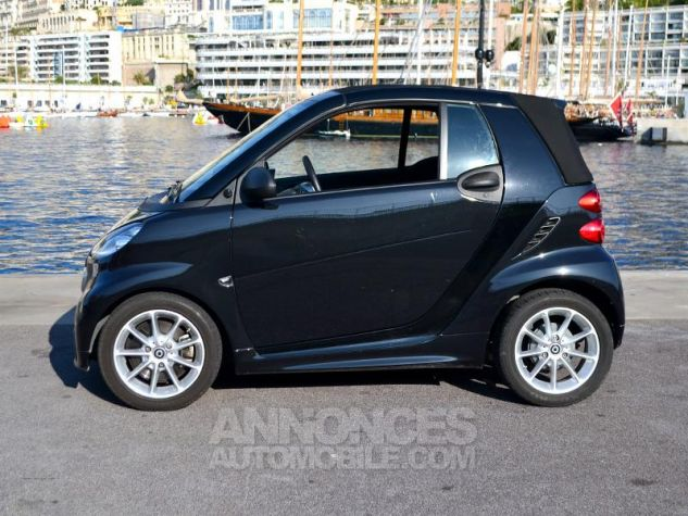 Smart Fortwo 71ch mhd Passion Softouch Noir Metalisée Occasion - 18