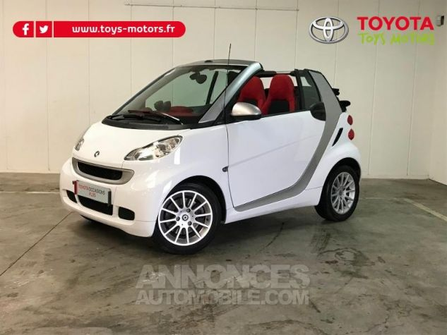 Smart Fortwo 84ch Turbo Passion Softouch GRIS Occasion - 0