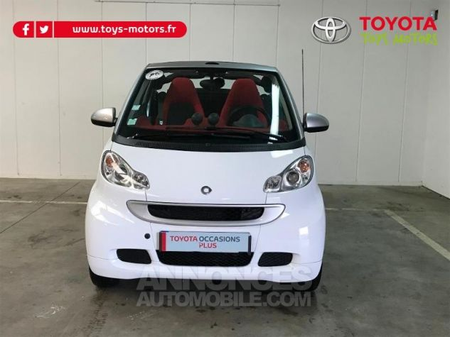 Smart Fortwo 84ch Turbo Passion Softouch GRIS Occasion - 3