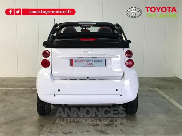 Smart Fortwo 84ch Turbo Passion Softouch GRIS Occasion - 4