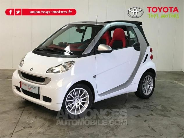 Smart Fortwo 84ch Turbo Passion Softouch GRIS Occasion - 5