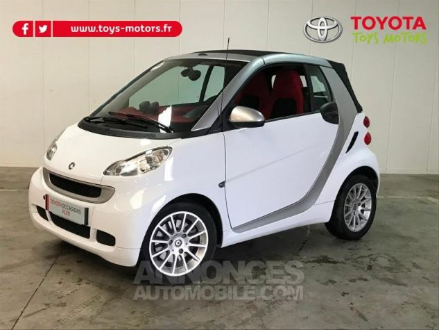 Smart Fortwo 84ch Turbo Passion Softouch GRIS Occasion - 6