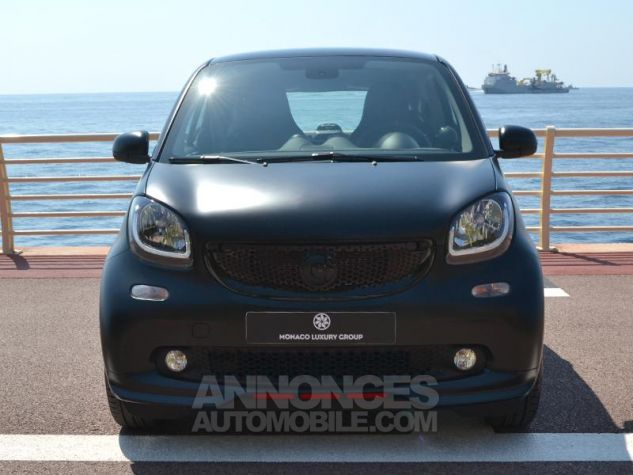 Smart Fortwo 90ch EDITION PURE BLACK twinamic E6c Noir Mat Velvet Occasion - 1