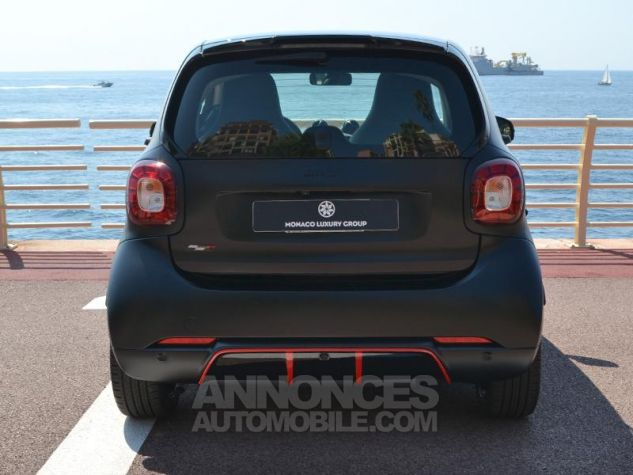 Smart Fortwo 90ch EDITION PURE BLACK twinamic E6c Noir Mat Velvet Occasion - 9