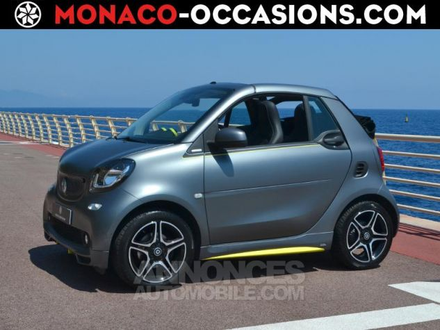 Smart Fortwo 90ch urbangold twinamic Gris Mat Occasion - 0