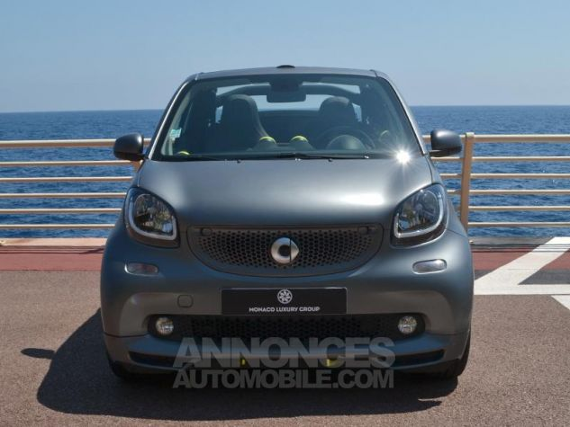 Smart Fortwo 90ch urbangold twinamic Gris Mat Occasion - 1