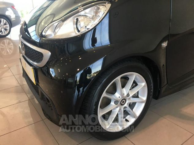 Smart Fortwo Cabriolet 71ch mhd Passion Softouch Noir Occasion - 2