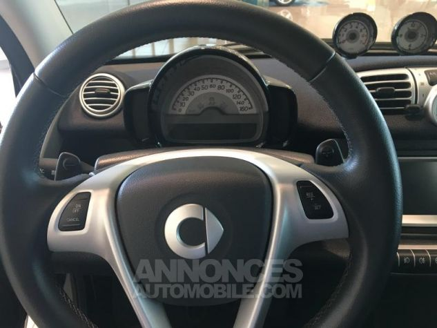 Smart Fortwo Cabriolet 71ch mhd Passion Softouch Noir Occasion - 4