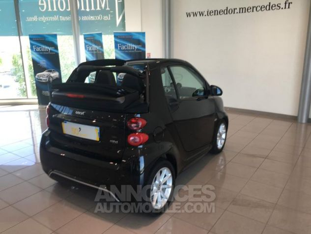 Smart Fortwo Cabriolet 71ch mhd Passion Softouch Noir Occasion - 8