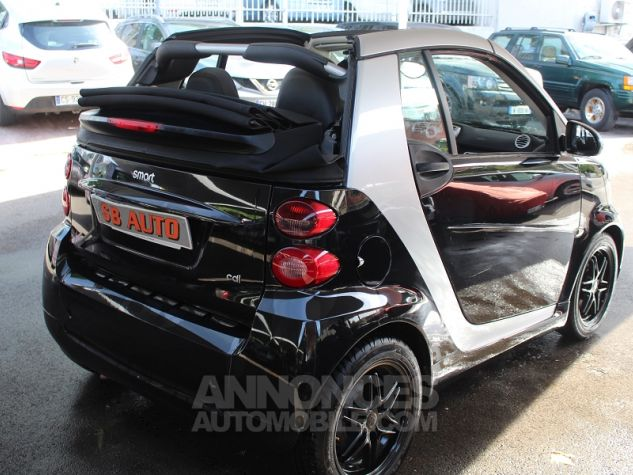 Smart Fortwo CDI PASSION SOFTOUCH NOIR Occasion - 2