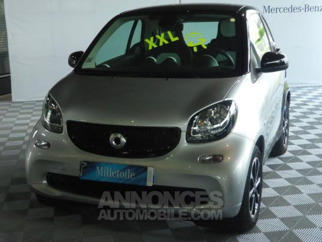 Smart Fortwo Coupe 71ch passion Argent Occasion - 0