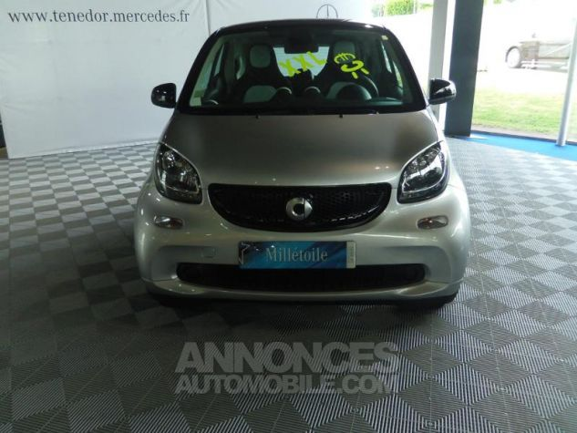 Smart Fortwo Coupe 71ch passion Argent Occasion - 1
