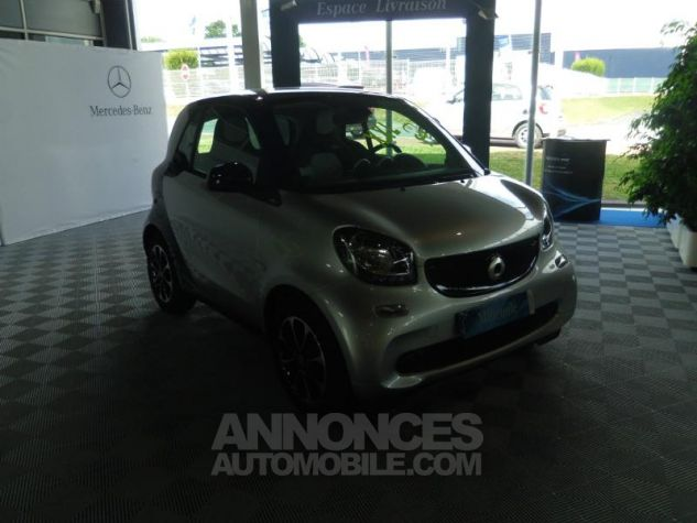 Smart Fortwo Coupe 71ch passion Argent Occasion - 2