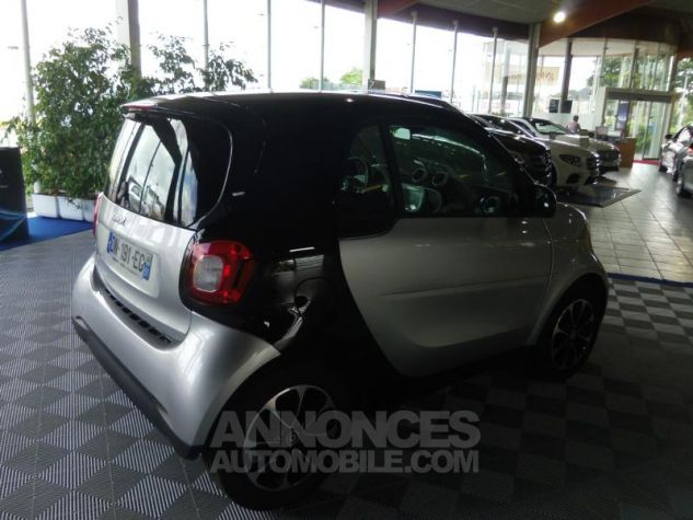 Smart Fortwo Coupe 71ch passion Argent Occasion - 4