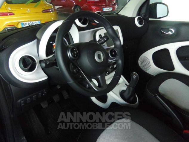 Smart Fortwo Coupe 71ch passion Argent Occasion - 7