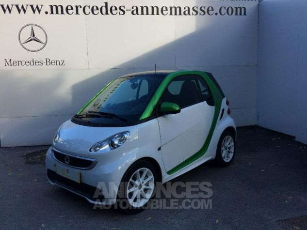 Smart Fortwo Coupe Electrique Softouch hors batterie blanche Occasion - 0