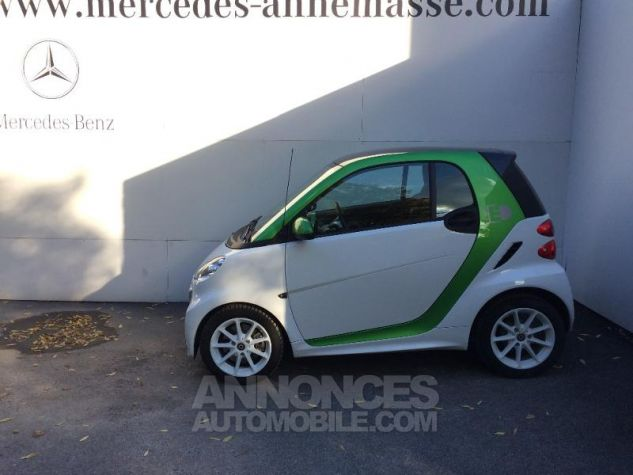 Smart Fortwo Coupe Electrique Softouch hors batterie blanche Occasion - 1