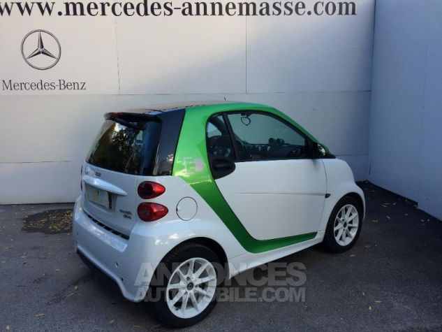 Smart Fortwo Coupe Electrique Softouch hors batterie blanche Occasion - 2