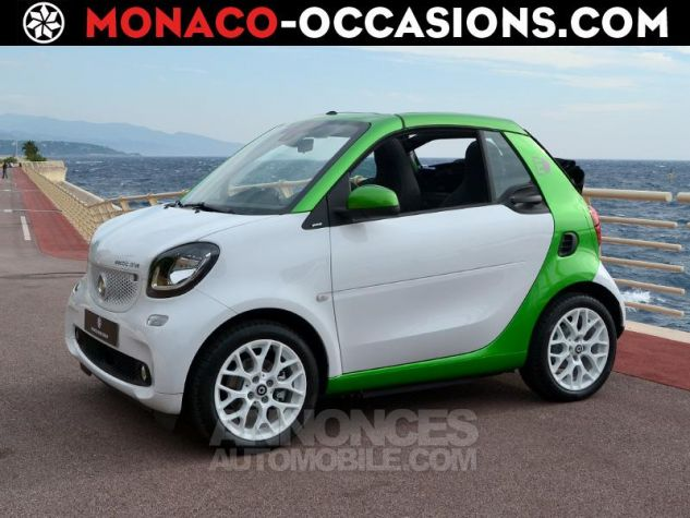 Smart Fortwo Electrique 82ch passion Blanc White Occasion - 0