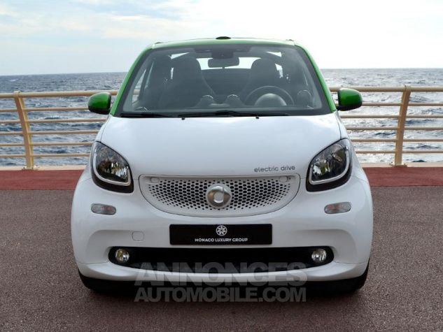 Smart Fortwo Electrique 82ch passion Blanc White Occasion - 1