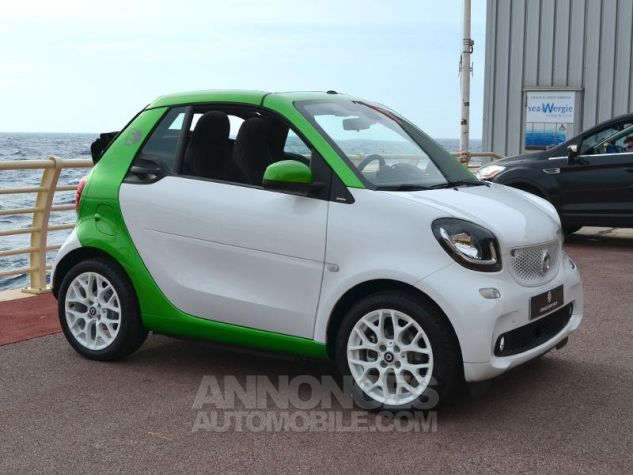 Smart Fortwo Electrique 82ch passion Blanc White Occasion - 2