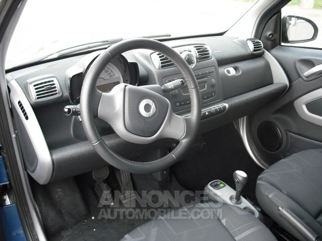 Smart Fortwo Fortwo Coupe 52Mhd Passion Bleu  Occasion - 1