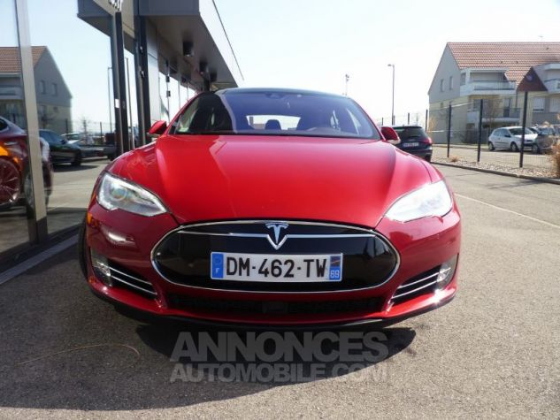 Tesla MODEL S 85 KW ROUGE Occasion - 5