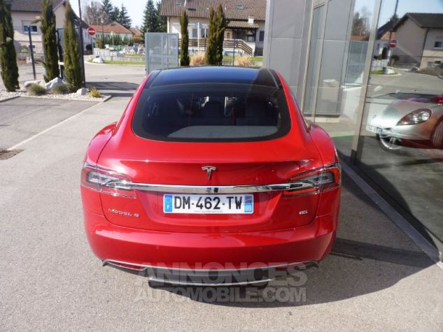 Tesla MODEL S 85 KW ROUGE Occasion - 6