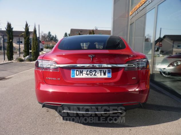 Tesla MODEL S 85 KW ROUGE Occasion - 7