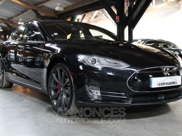 Tesla MODEL S 90 KWH PERFORMANCE DUAL MOTOR NOIR Occasion - 0