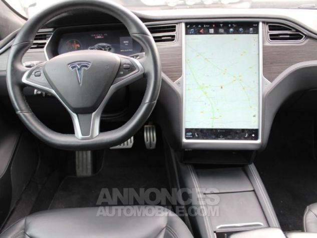 Tesla MODEL S 90 KWH PERFORMANCE DUAL MOTOR NOIR Occasion - 14