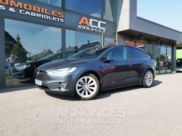 Tesla Model X 90D DUAL MOTOR GRIS Occasion - 1