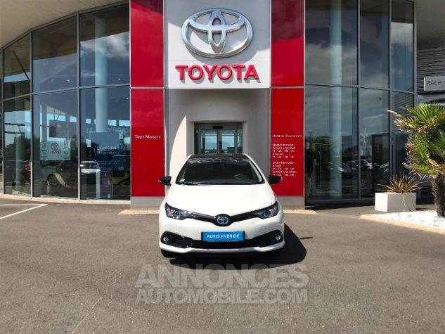 Toyota AURIS HSD 136h Collection BI-TON BLANC NACRE Occasion - 1