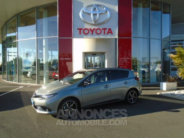 Toyota AURIS HSD 136h Collection BI-TON GRIS PLATINE Occasion - 0