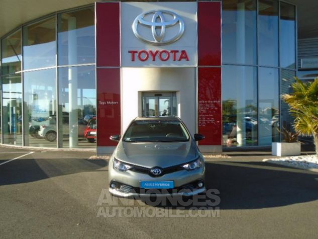 Toyota AURIS HSD 136h Collection BI-TON GRIS PLATINE Occasion - 1