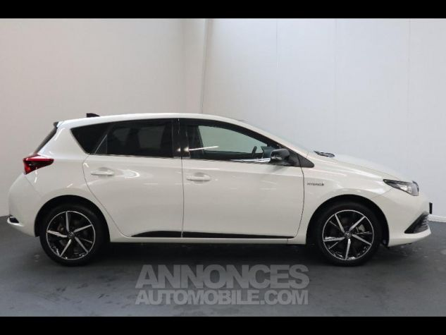 Toyota AURIS HSD 136h Collection RC18 blanche Occasion - 5