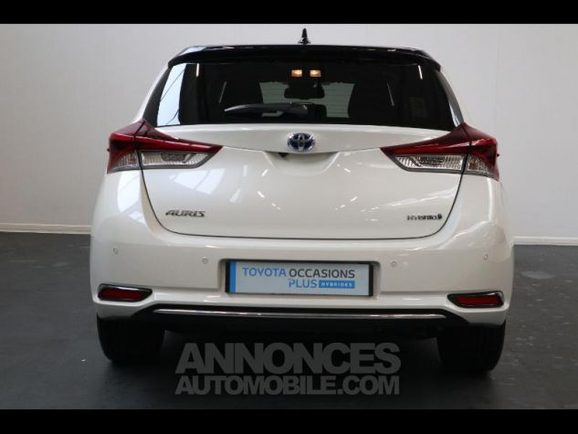Toyota AURIS HSD 136h Collection RC18 blanche Occasion - 6