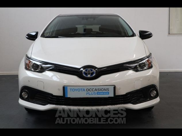 Toyota AURIS HSD 136h Collection RC18 blanche Occasion - 7