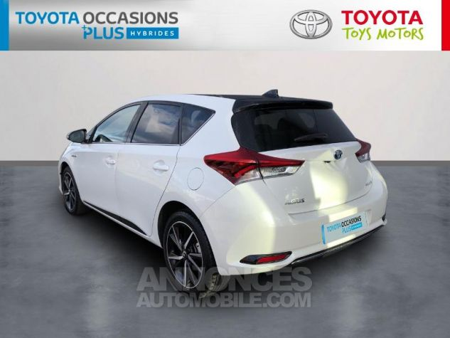 Toyota AURIS HSD 136h Collection RC18 Blanc Nacre Occasion - 1
