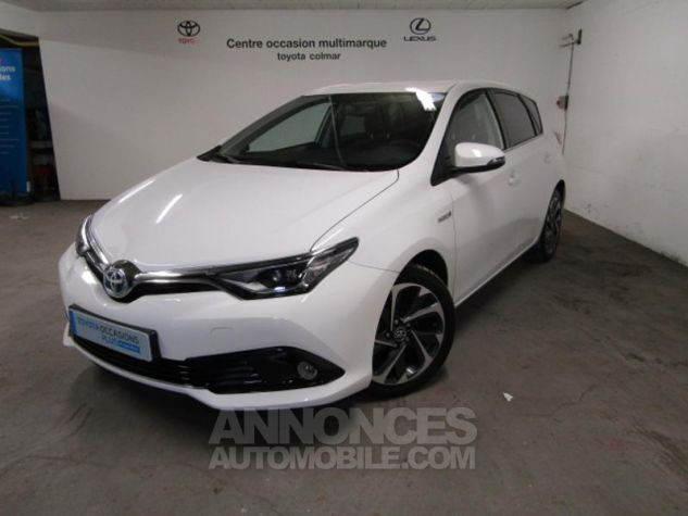 Toyota AURIS HSD 136h Design Blanc Occasion - 0