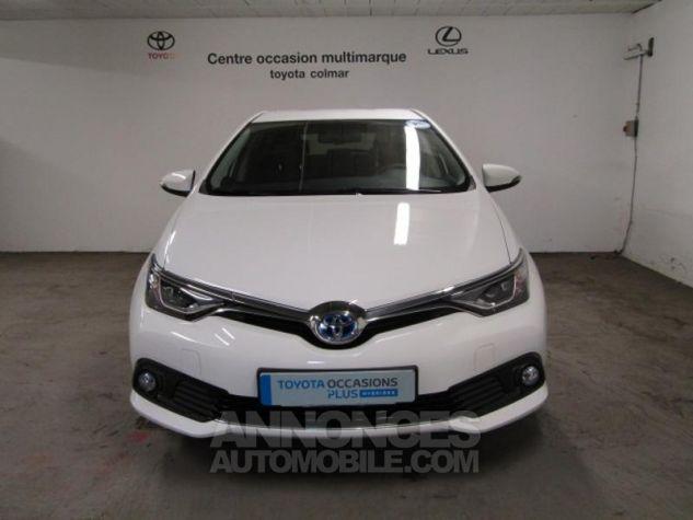 Toyota AURIS HSD 136h Design Blanc Occasion - 1