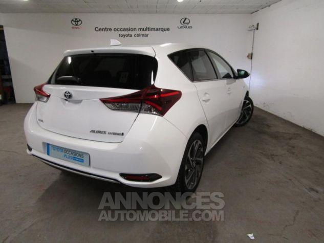 Toyota AURIS HSD 136h Design Blanc Occasion - 3
