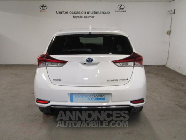 Toyota AURIS HSD 136h Design Blanc Occasion - 4