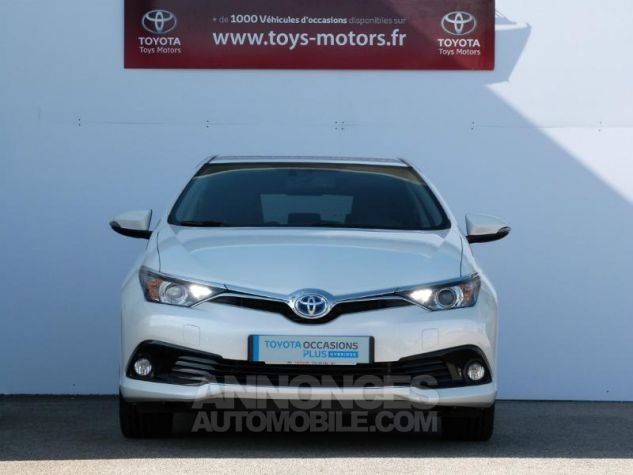 Toyota AURIS HSD 136h Design BLANC NACRE Occasion - 10