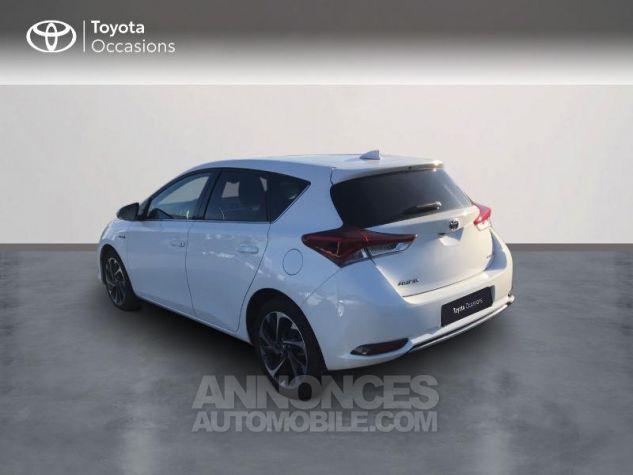 Toyota AURIS HSD 136h Design RC18 Blanc Pur Occasion - 1