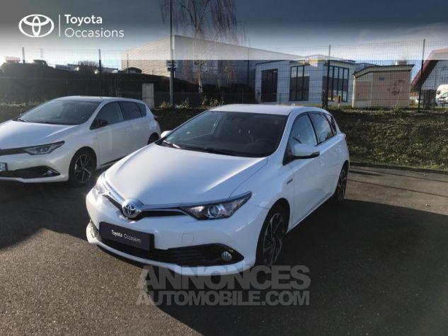 Toyota AURIS HSD 136h Design RC18 Blanc Pur Occasion - 16