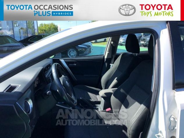 Toyota AURIS HSD 136h Dynamic Blanc Occasion - 12