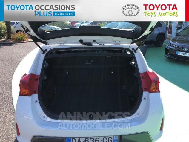 Toyota AURIS HSD 136h Dynamic Blanc Occasion - 14